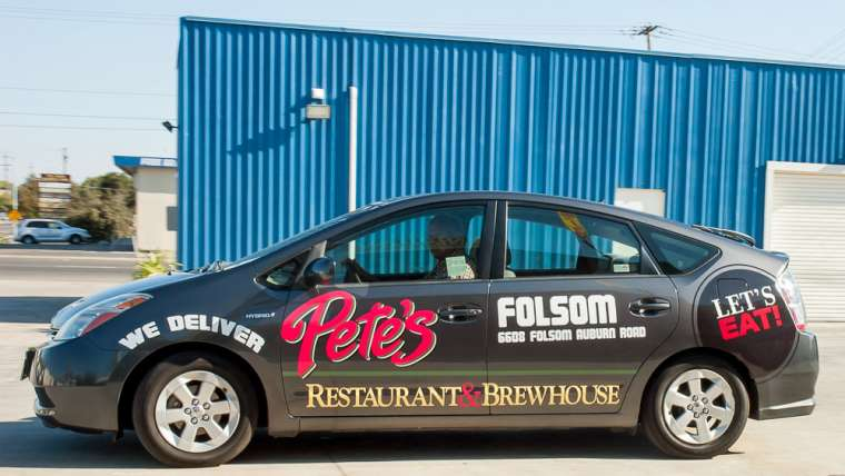 Pete's Delivery Vehicle Wrap