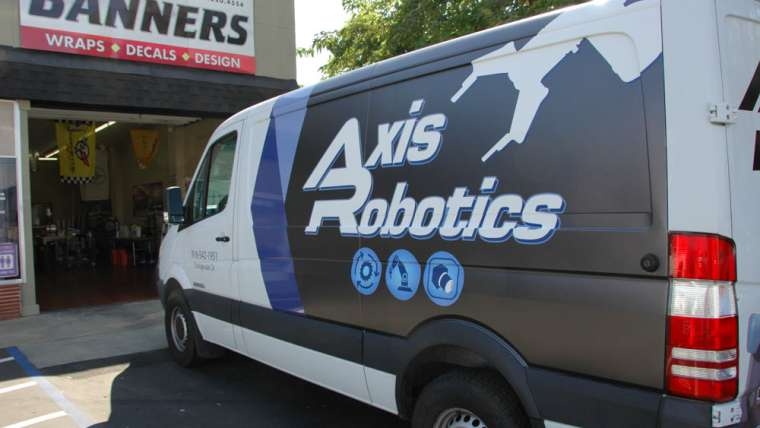 Axis Robotics Van Wrap