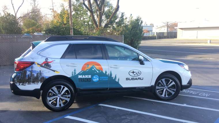 Sierra at Tahoe 2017/2018 Subaru Outback Wraps